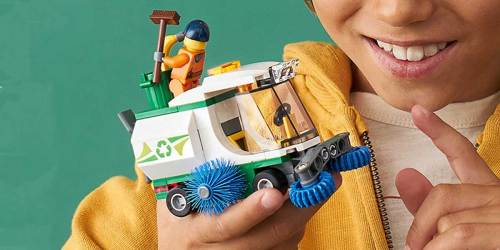 LEGO City Street Sweeper Set Just $5.99 on Target.com (Regularly $10)