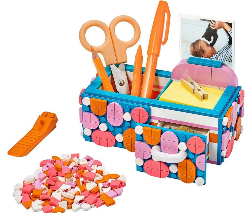 lego dots desk organizer kit