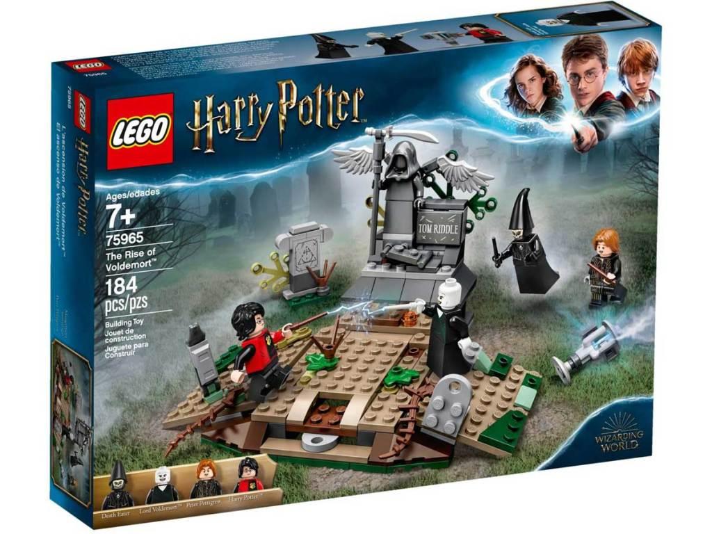 lego harry potter kebangkitan set voldemer