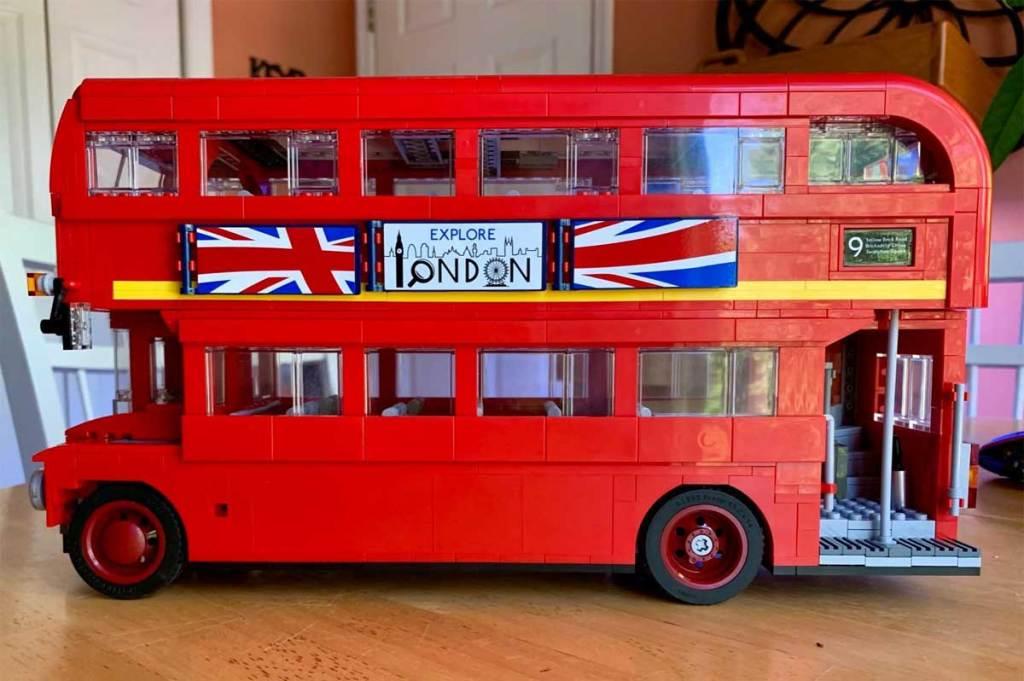 london lego bus