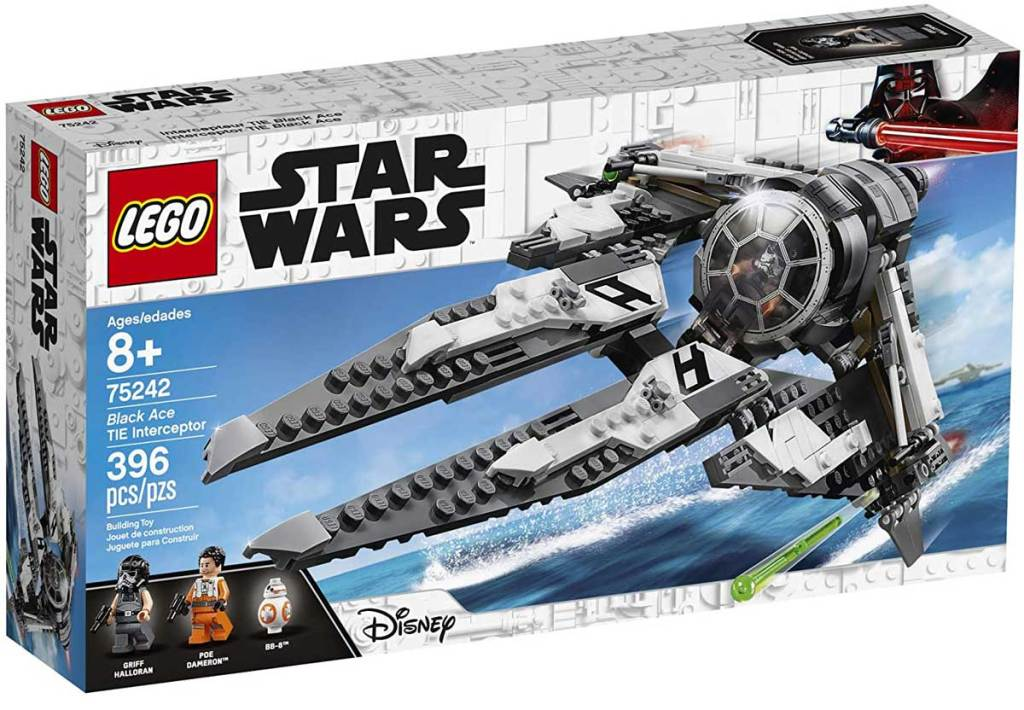 lego star wars black tie interceptor set