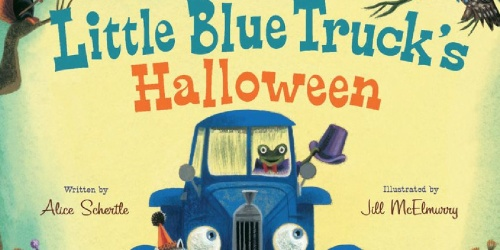 Little Blue Truck's Halloween Board Book Only $5.84 on Amazon (Regularly $13)