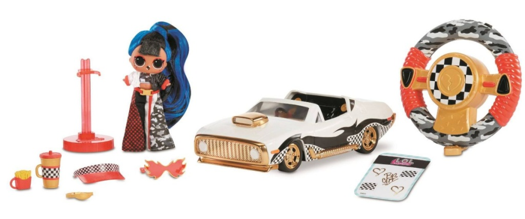lol surprise remote control car with doll