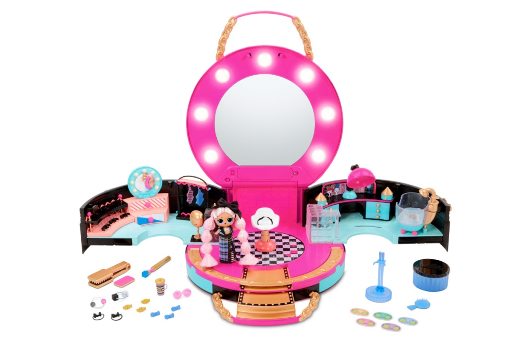 lol surprise salon with mini doll