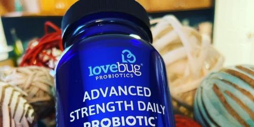 LoveBug Probiotics 1-Month Supply Only $12.47 on Amazon | Supports Digestion & Gut Health