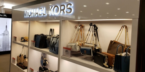 Michael Kors Leather ToteOnly $89 Shipped on Macys.com (Regularly $198) | Up to 55% Off Bags & Backpacks