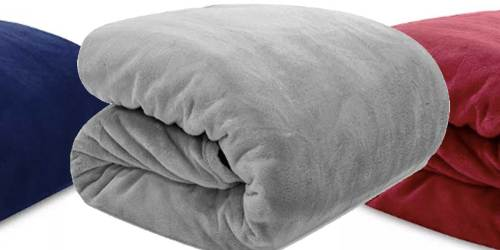 Ralph Lauren Micromink Plush Blanket ANY Size Just $19.99 on Macys.com (Regularly $70+)