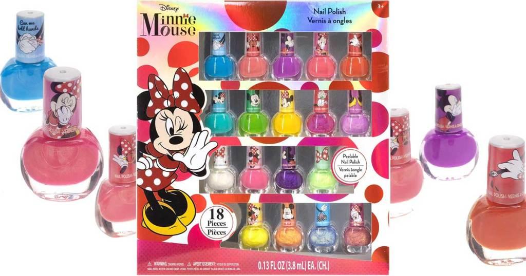 set of girls nail polish