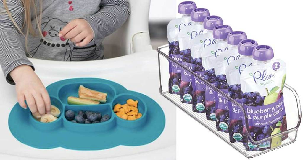 meal mat and organizer tray