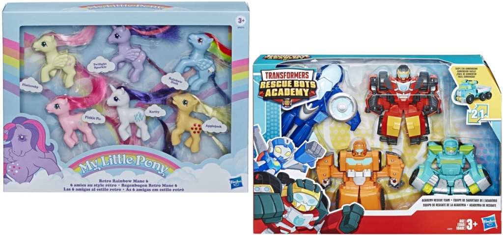 my little pony and transformers set