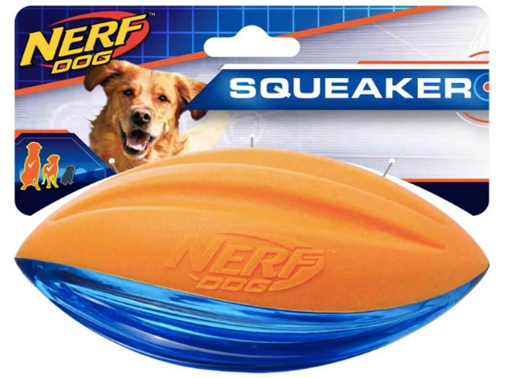 nerf dog toy football