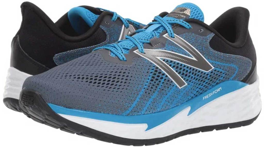 men's pair of running shoes