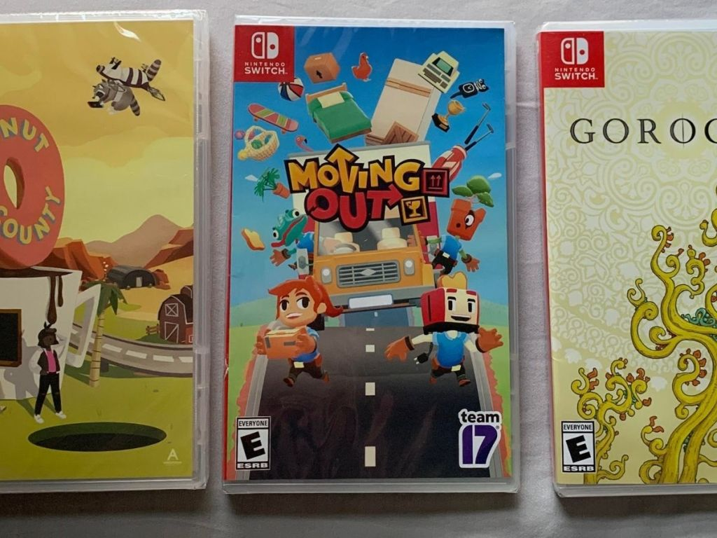 Nintendo Switch Moving Out video game