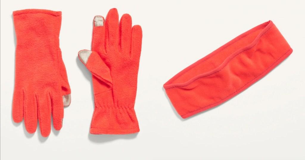 old navy womens accessories orange