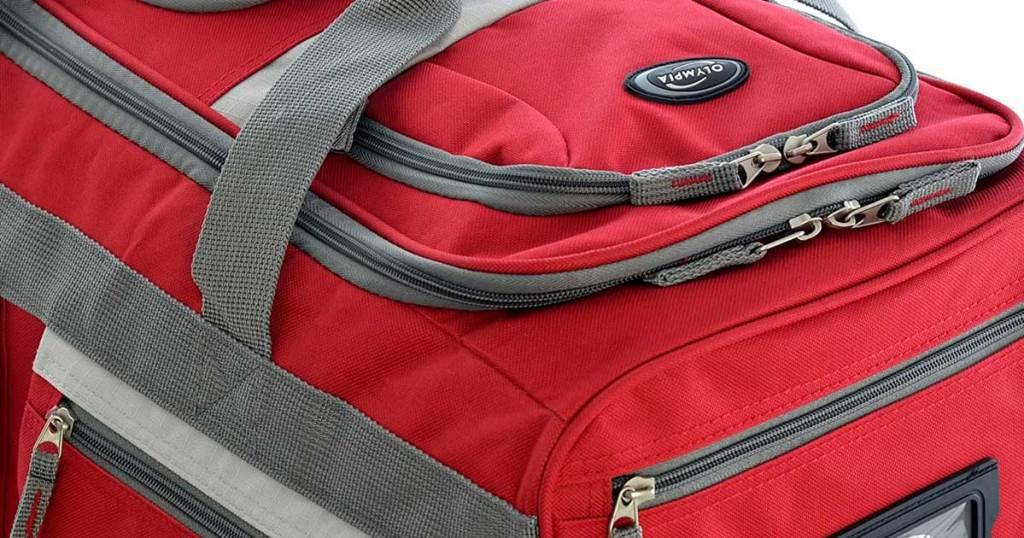 Close-up Image of Duffel Bag