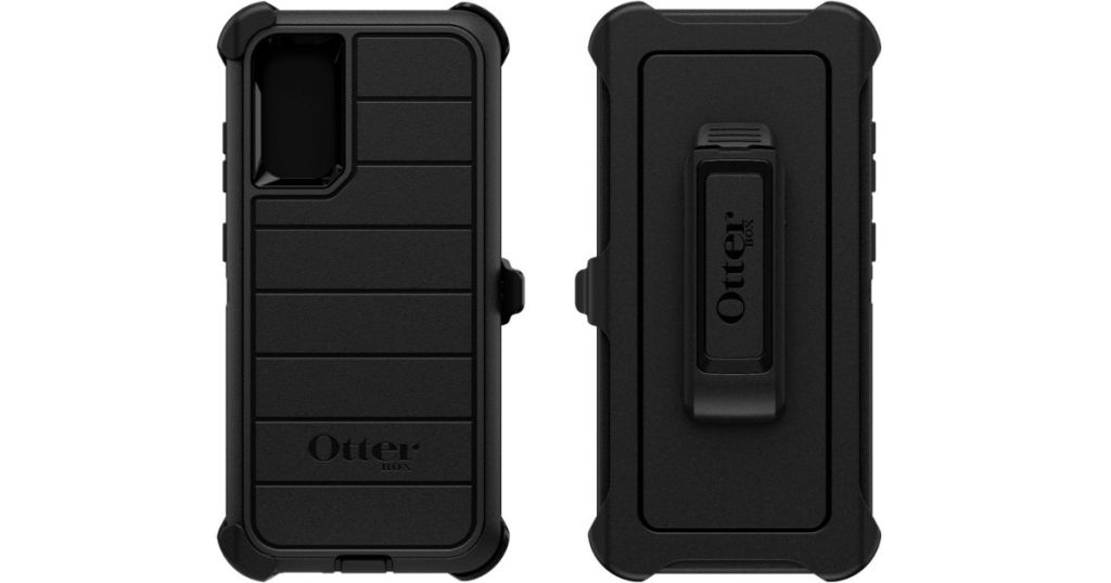 front and back of otterbox phone case