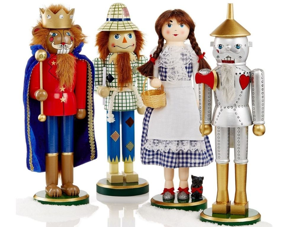 wizard of oz nutcracker set