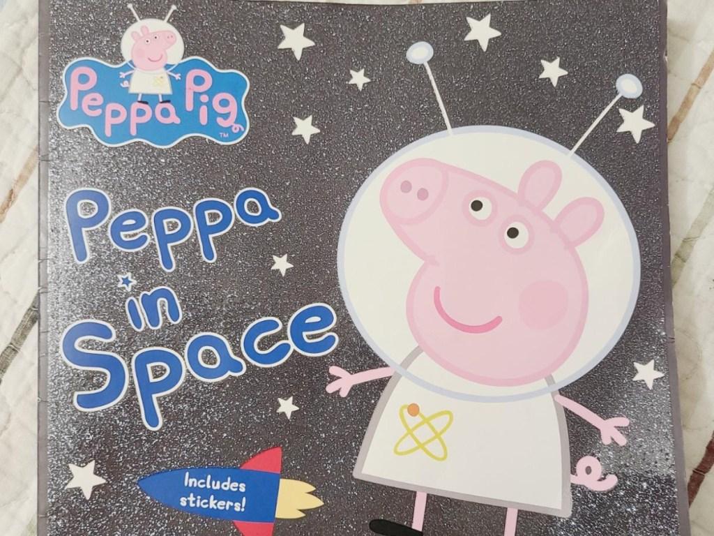peppa pig in space book