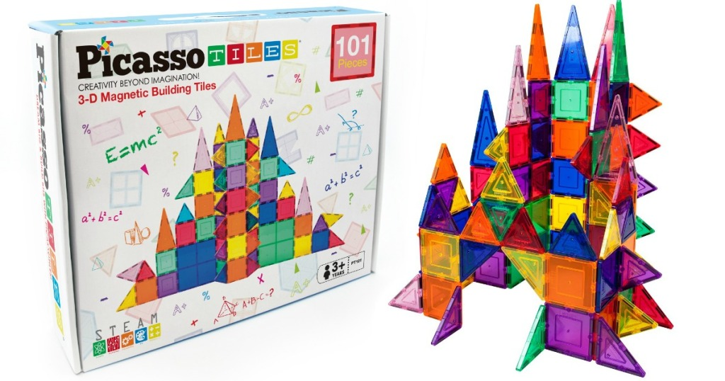 picassotiles box and castle structure