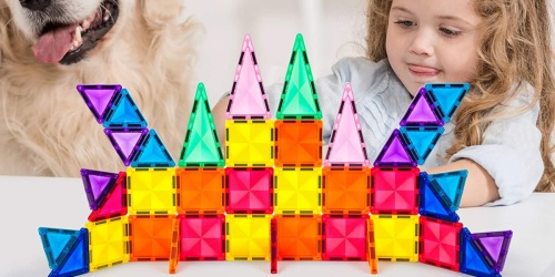 PicassoTiles Mini 101-Piece Magnetic Building Tiles Set Only $29.99 on Zulily