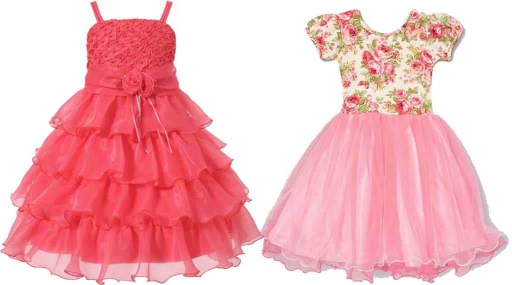 little girls dresses stock images