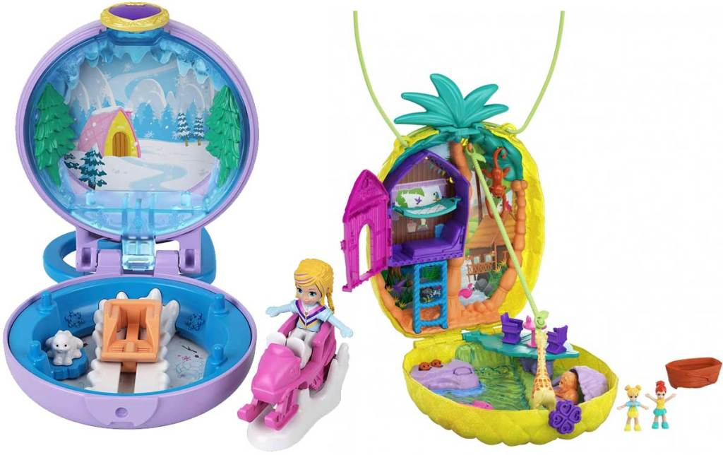 polly pocket snow and pineapple