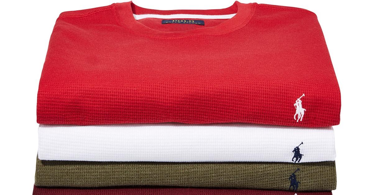 Polo Ralph Lauren Men's Thermal Top Only $21.99 on Macys.com ...