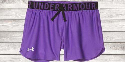 Under Armour Girls Workout Shorts Just $9.98 Shipped on Amazon (Regularly $20)