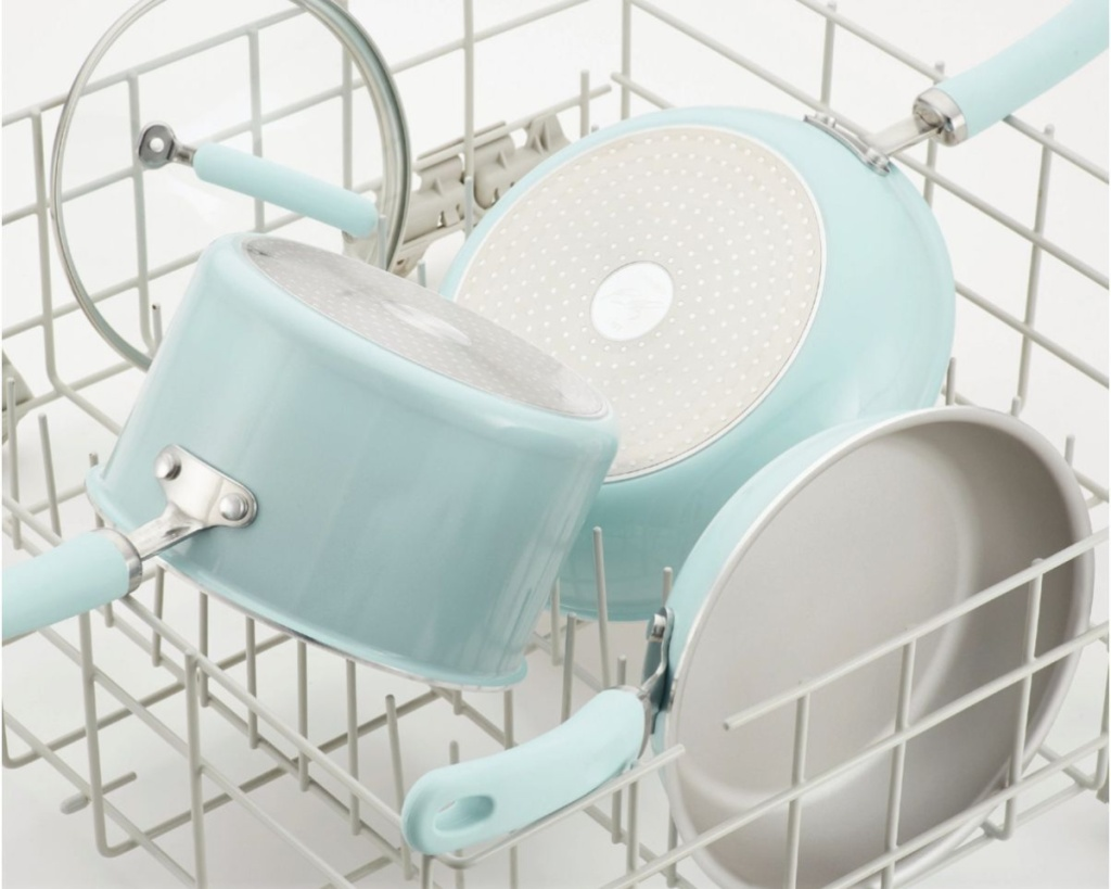 rachael ray pots and pans in dishwasher