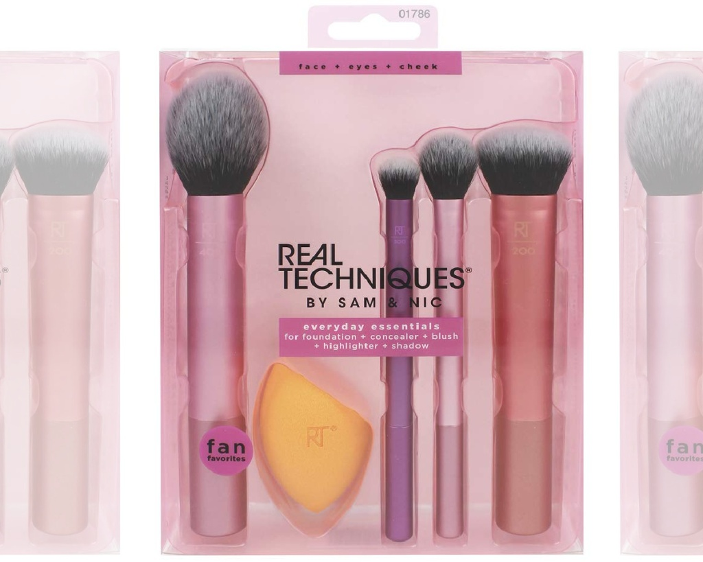 real techniques brush set in box