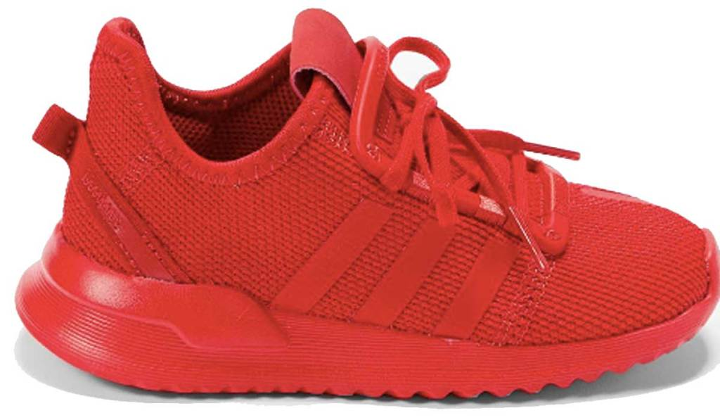 adidas red shoe