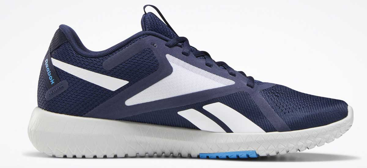 mens pair of running shoes