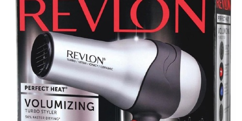 Revlon Volumizing Hair Dryer Only $9 on Amazon (Regularly $25)