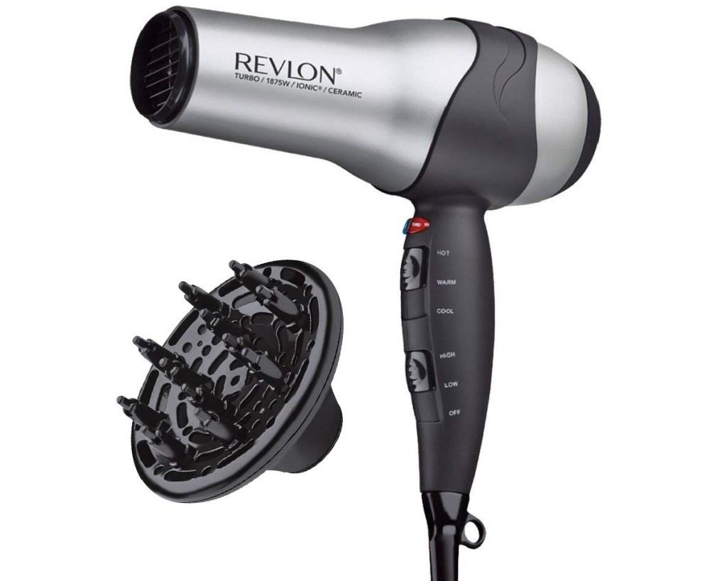 revlon hair dryer and diffuser