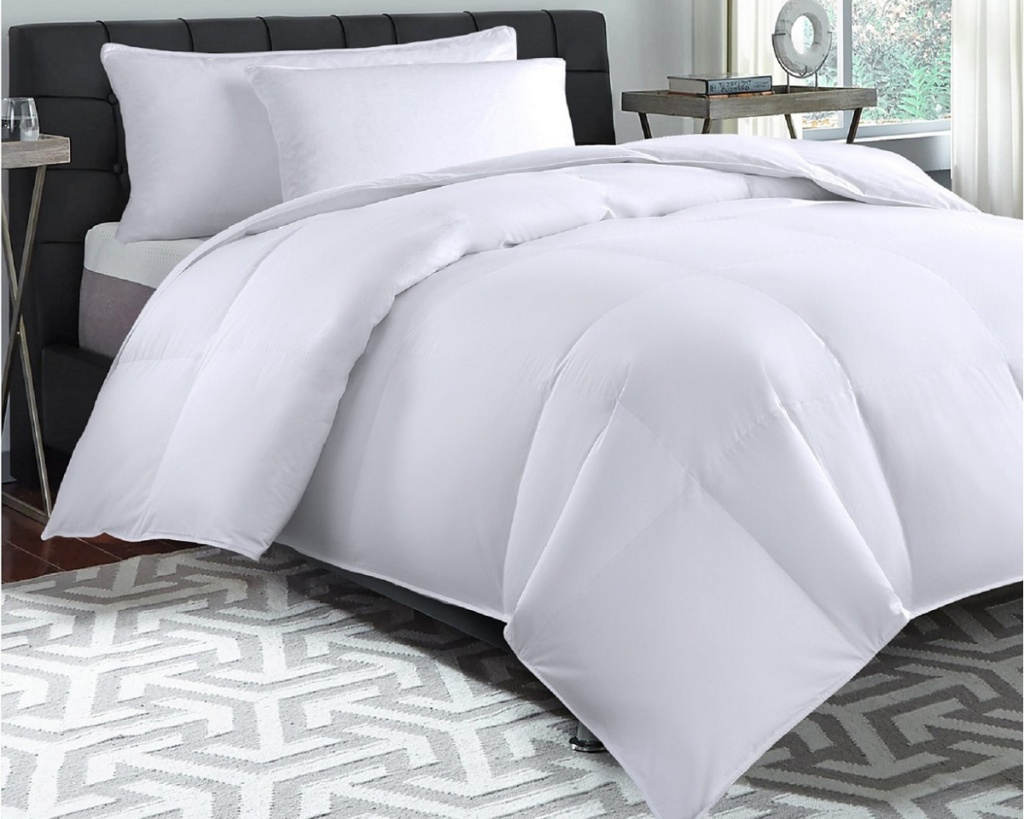 royal luxe comforter on bed