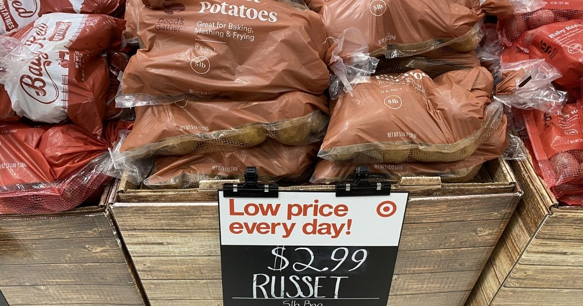 box of russet bags