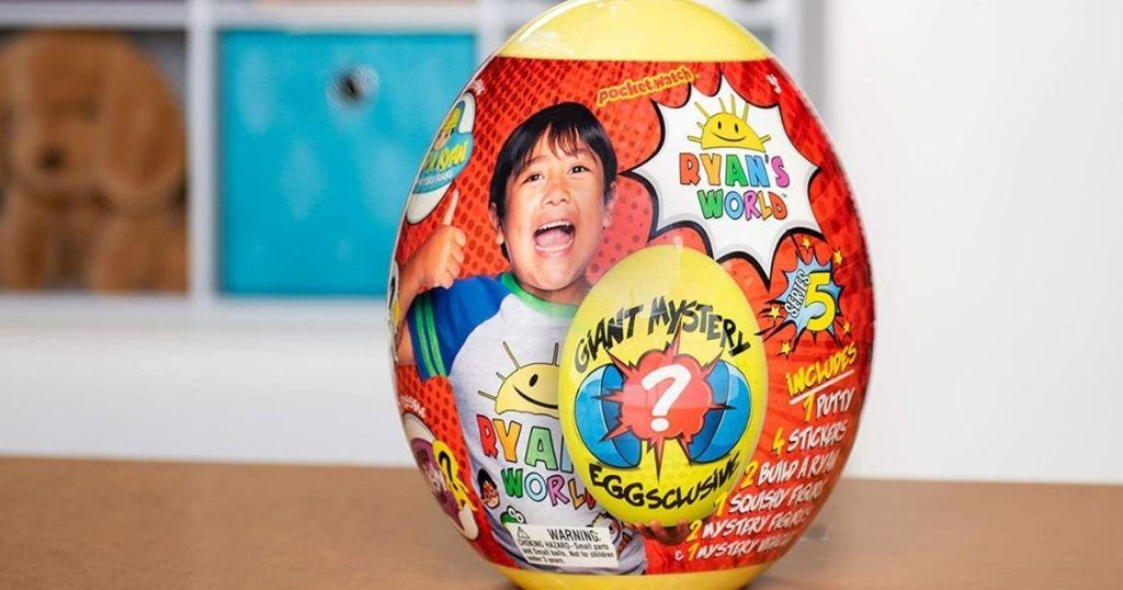 Ryan's World mystery egg