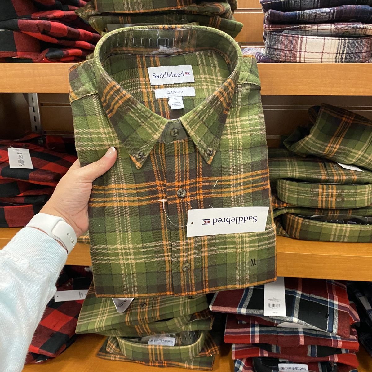 Saddlebred Flannel