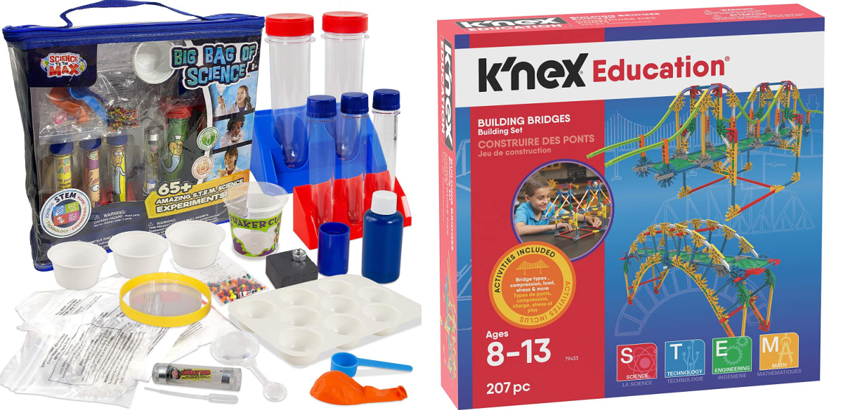 science kit and building kit