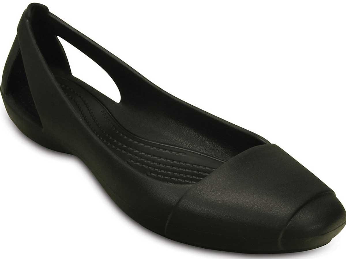 women's sienna flat croc