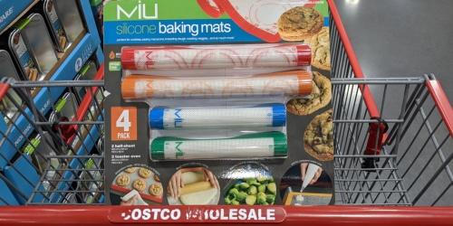 Silicone Baking Mat 4-Piece Set Only $11.99 at Costco | Great Gift Idea