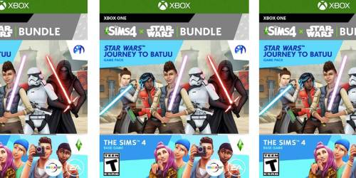 The Sims 4 + Star Wars Journey to Batuu Bundle Xbox One Game Just $12 on Amazon (Regularly $40)