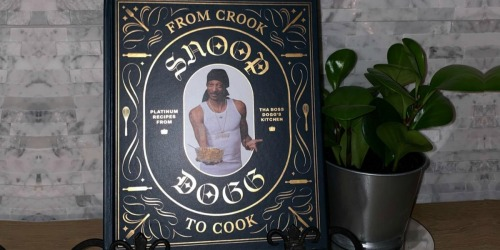 From Crook to Cook Snoop Dogg Hardcover Cookbook Just $9.99 on Amazon (Regularly $25)