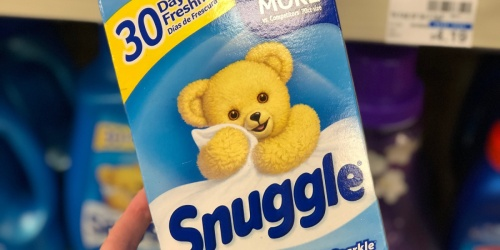Snuggle Dryer Sheets Just $1.99 on Walgreens.com (Regularly $5)