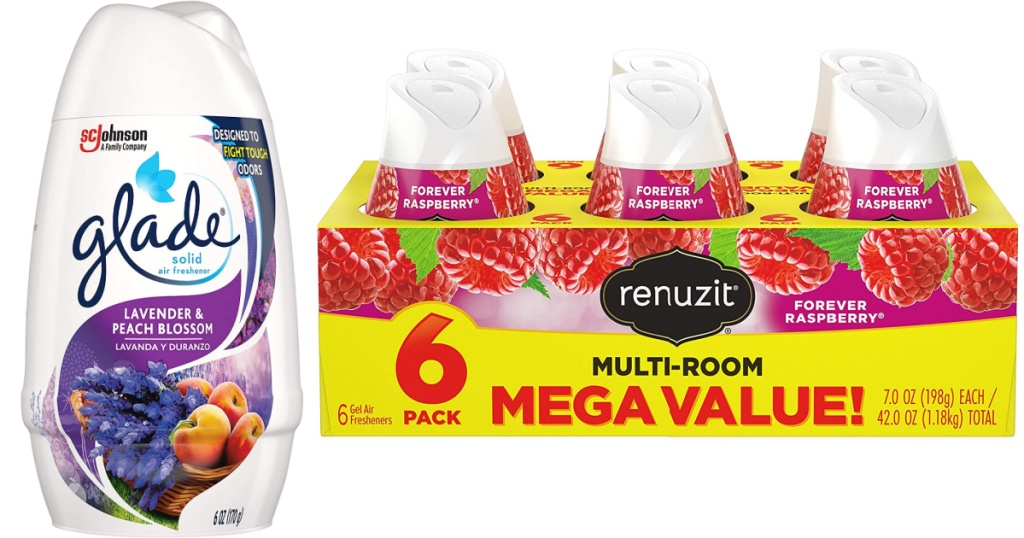 solid gel fresheners and renuzit