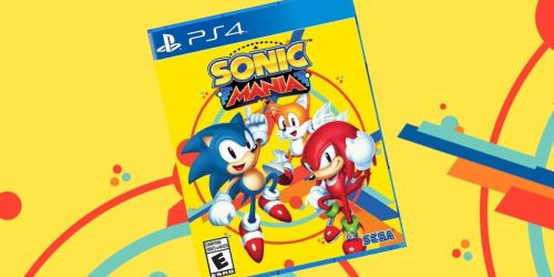 Sonic Mania PlayStation 4 Game Just $9.99 on Target.com (Regularly $20)