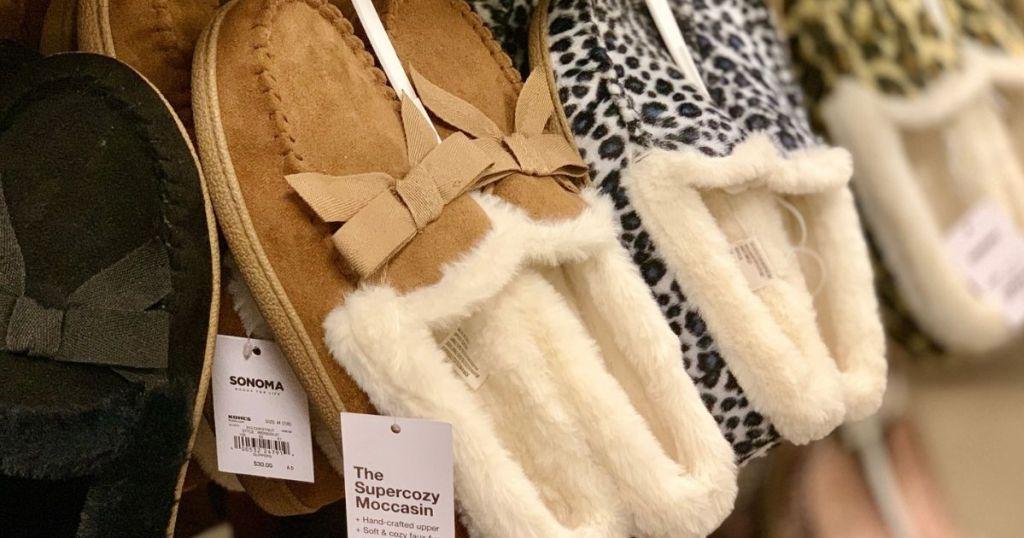 Sonoma Women's Slippers from $9.59 on Kohls.com (Regularly $30) | Cyber Monday Deal