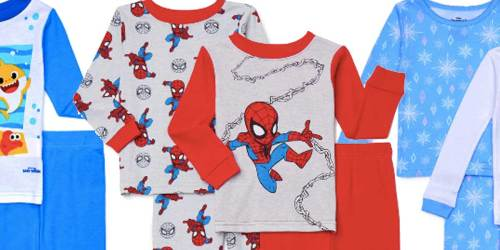 Toddler 4-Piece Pajama Sets Just $10 at Walmart | Only $5 a Pair