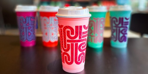 Starbucks Color-Changing Reusable Hot Cups Available Now (These WILL Sell Out!)