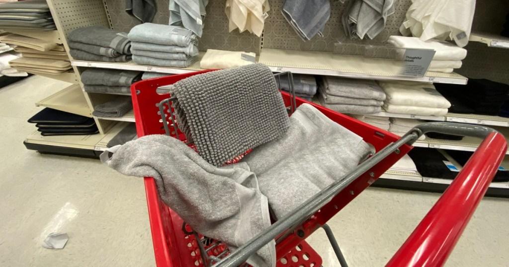 target bath decor in cart
